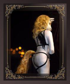 Doux ange - by Focco by WildyTheDonkey