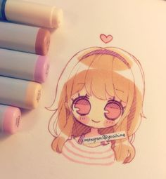So tired zzz.... I got a few more gelly roll pens today, but I still want more…