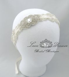 Hey, I found this really awesome Etsy listing at http://www.etsy.com/listing/150734714/crystal-headband-wedding-satin-ribbon