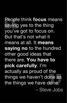 Focused..