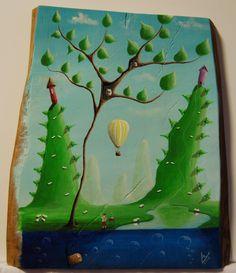 """""""me 04"""" Paweł Widera original paintings, acrylic on wood"""