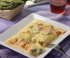 Crêpes con asparagi e gorgonzola | Ricette Bimby | Scoop.it