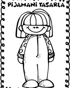"86 Beğenme, 1 Yorum - Instagram'da Selen Öğretmen (@etkinlikarsivim): ""Pijamalı çocuklarım yüklendi facebook ve pinteressten ulaşabilirsiniz 😍😍 #okuloncesipaylasim…"" Crafts To Make, Crafts For Kids, Diy Crafts, Preschool Painting, Art Plastique, Preschool Activities, Special Day, Art For Kids, Coloring Pages"