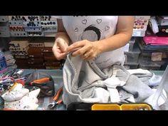 RIPARAZIONI sostituire il cursore e non l'intera zip. YouTube Sewing Tutorials, Sewing Patterns, Couture, Sewing Techniques, E Design, Vocabulary, Hobbies, Fabric, Refashioning