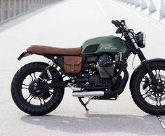 Cafe Racer Honda, Cafe Racer Bikes, Bmw Classic, Guzzi Bobber, Moto Guzzi V7 Stone, Brat Motorcycle, Honda Cb750, Bike Design, Amazing Cars