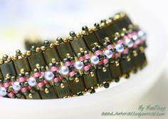 Detailed tute for Tila bracelet. #Seed #Bead #Tutorials