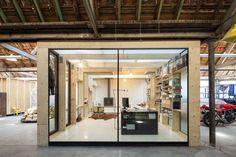 Fabriek werd woonhuis,  Julie D'Aubioul Architect