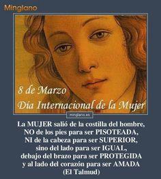 Frases para el día de la mujer para el 8 de marzo