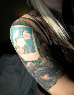 Polaroid Tattoo - @Annie Compean Compean Emard ca sera bon pour toi!
