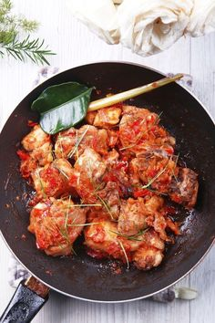 """Ayam Rica-rica. All you need to know is """"Spicy Chicken""""."""