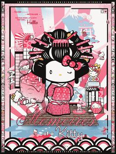 Hello Kitty Geisha