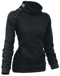 Sideways Girl-Sweat-Shirt schwarz: Amazon.de: Bekleidung
