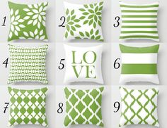 Your place to buy and sell all things handmade Green White Pillow Cover Rosemary Green Accent Pillows. Green Pillows, White Pillows, Accent Pillows, Pillow Cover Design, Throw Pillow Covers, Throw Pillows, White Cushion Covers, Green Accents, Home Interior