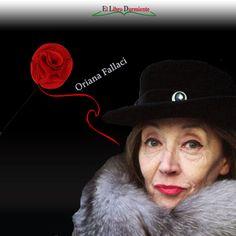 """Hoy #DíaMundialDelLibro Mariángeles Salas en """"Literatura Escrita por Mujeres"""" nos presenta a la #escritora Oriana Fallaci en el #blog  http://ellibrodurmiente.org/fallaci-oriana/"""