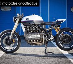 Caferacer55 @mototdesigncollective with BMW K