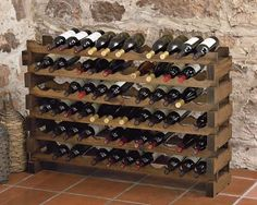 Wine racks...have these and love them. Maybe more to separate dining room from living room?