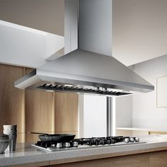 LEONE ISLAND -Give your kitchen a splash of Italian design with a chimney style…