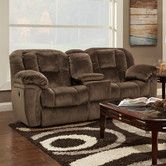 Found it at Wayfair - Hummer Console Reclining Loveseat