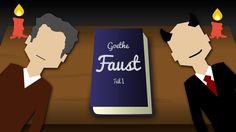 GOETHE'S FAUST ZUSAMMENFASSUNG -RAP - TIROW [OFFICIAL ANIMATED VIDEO]