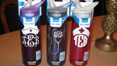 Super FAST  Nurse NONINSULATED Camelbak personalized waterbottles on Etsy, $21.95