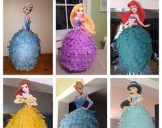 Piñata princesa de Disney  Ariel Sirenita