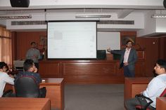 | Training on Knimbus Database |  The Library and Information Resource Centre (LIRC) of the University organized a training programme on Knimbus Database on 9 March 2016. The training on the newly subscribed federated search engine was held to provide an overview of the tool and hands-on experience to users. Mr Saurabh and Mr Kaushal, Training Managers from Knimbus conducted the session, attended by faculty members of different departments of the University.