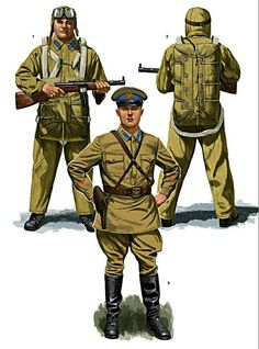 Military Art, Military History, Military Uniforms, Ww2 History, History Images, Soviet Army, Soviet Union, Warsaw Pact, Military Drawings