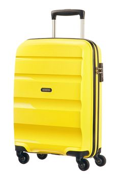 f4c95b65201 American Tourister Bon Air Spinner S Strict 55x40x20cm Solar Yellow Spinner  Suitcase, Bona, American
