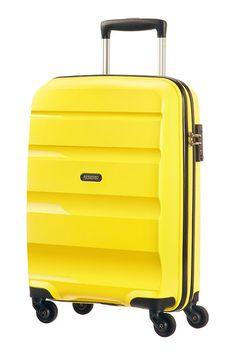 ac23e4493 American Tourister Bon Air Spinner S Strict 55x40x20cm Solar Yellow