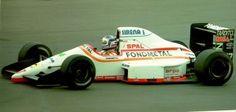Nicola Larini - Osella FA1M89 - Ford-Cosworth 1989