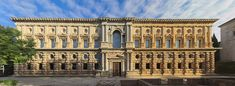 Palacio de Carlos V, centro de la Alhambra de Granada (Arq. Pedro Machuca) Periodo Renacimiento Purista