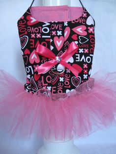 Shop for on Etsy, the place to express your creativity through the buying and selling of handmade and vintage goods. Dog Tutu, Valentines Flowers, Animal Fashion, My Little Girl, Pet Stuff, Pet Clothes, Yorkie, Boho Shorts, Lily