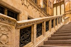 Ogle the Woolworth Building's Stunning, Rarely Open Lobby Woolworth Building, Garage House, Slytherin, Stairs, Architecture, Places, Nyc, Gilded Age, York