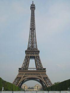 Paris - Eiffel Tower in the daylight.