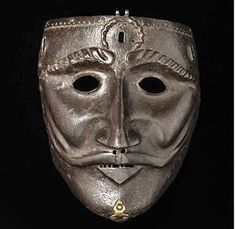 War Mask - Anatolia or Western Iran -15th century. #Mask