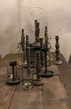Color candlesticks with primitive texture!!!