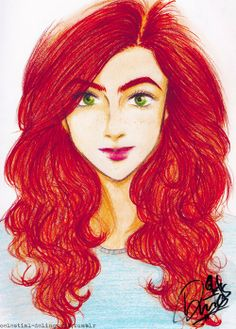 Clary Fray, awesome fan art :)