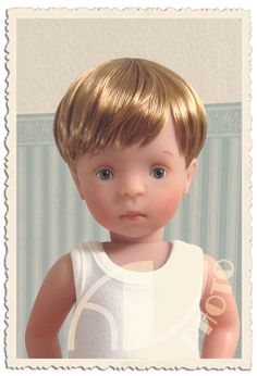 Paul - he's Lotte's twin brother (Käthe Kruse Minouche / Sylvia Natterer)