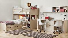 Dormitorio juvenil :camas literas. / Bunk Beds http://www.decorhaus.es/es/ #muebles #Málaga #furniture