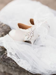 Glam booties: http://www.stylemepretty.com/2015/01/08/four-elements-wedding-inspiration/ | Photography: Ashley Bosnick - http://ashleybosnick.com/