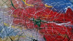 In The Web oil on board