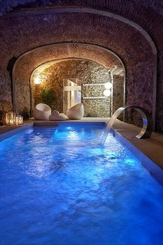 Best inside pools ever! See more inspiring images on Home Design Ideas boards: http://www.pinterest.com/homedsgnideas/