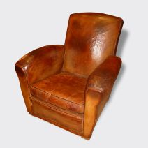 FAUTEUIL CUIR HEMINGWAY confort club chesterfield