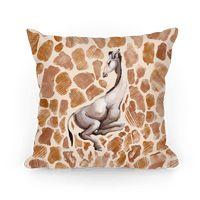 Spot Melt Giraffe Pillow
