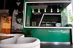 Carlsberg Lounge Design @ Budapest by Katalin Ercsényi, via Behance