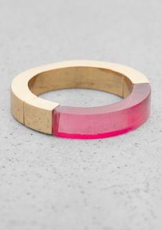 Stories Semi Transparent Ring