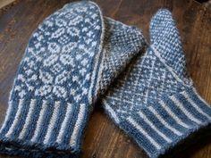 Mittens free knitting pattern