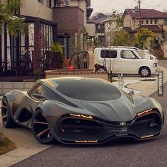 This is an amazingly beautiful beast! Lada Raven concept by Dmitry Lazarev. www.diseno-art.co...