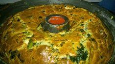 αλμυρό κέικ με σπανάκι κε φέτα