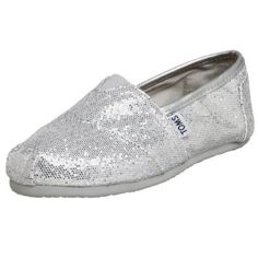 TOMS Women's Glitter Slip-On